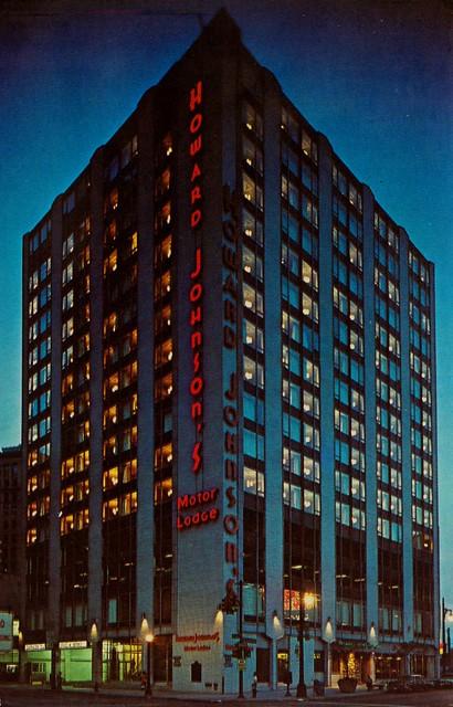 Howard Johnson's Motor Lodge and Restaurant Detroit,MI
