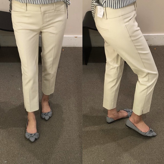 LOFT Riviera Pants in Marisa Fit in light toasted almond, size 00P