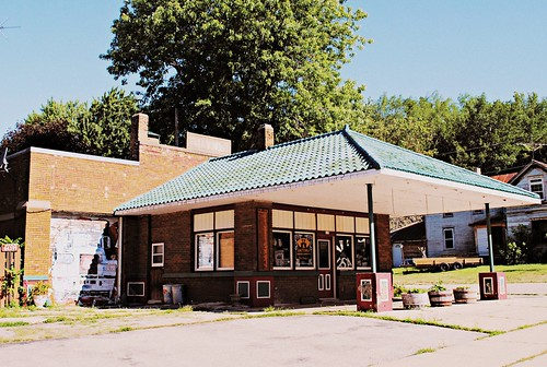 Former Canopy Gas Station - Poy Sippi, Wisconsin