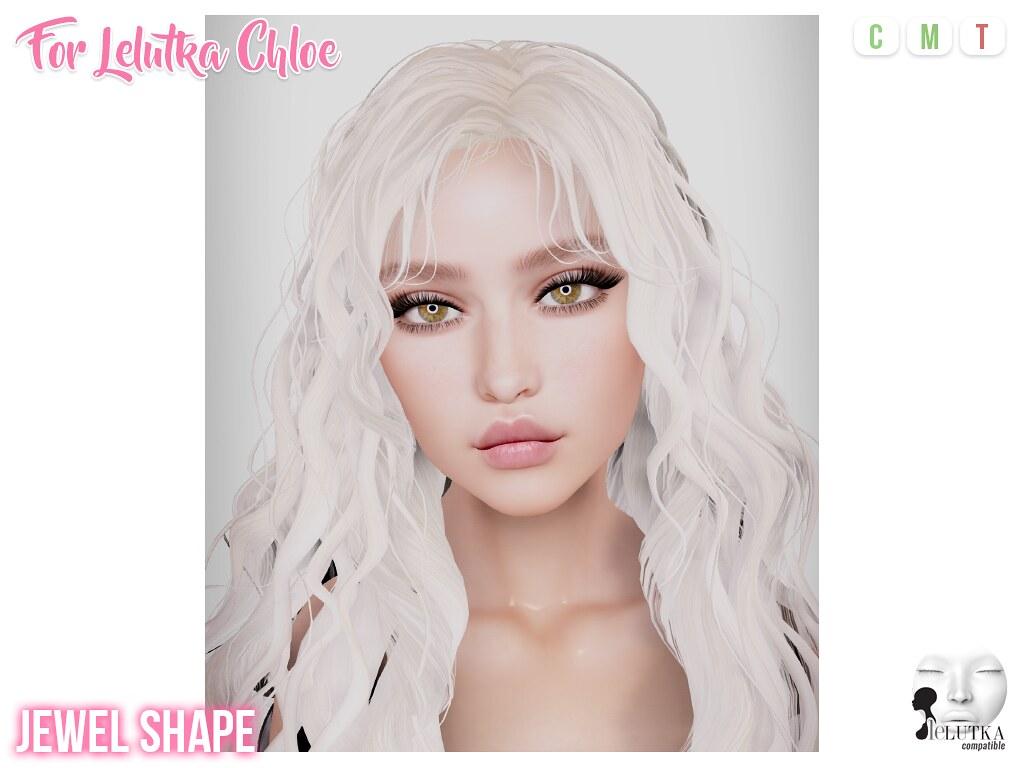 Jewel Shape (Lelutka Chloe) - TeleportHub.com Live!