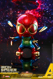 Hot Toys – COSB533 –《復仇者聯盟3:無限之戰》鋼鐵蜘蛛(宇宙配色版本) Iron Spider (Galaxy Color Version) Cosbaby (M) Bobble-Head