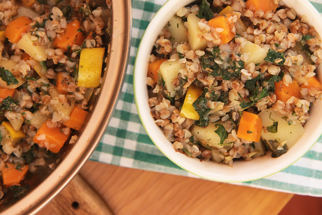Buckwheat and Vegetables Stew