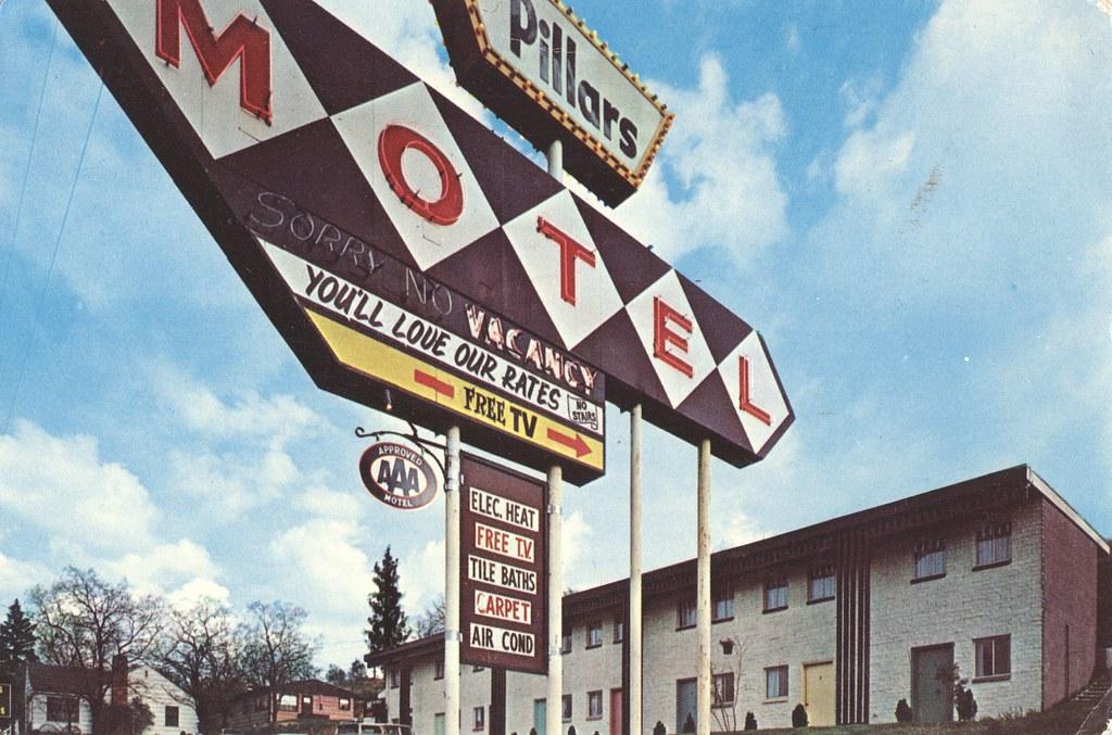 The Pillars Motel - Pendleton, Oregon