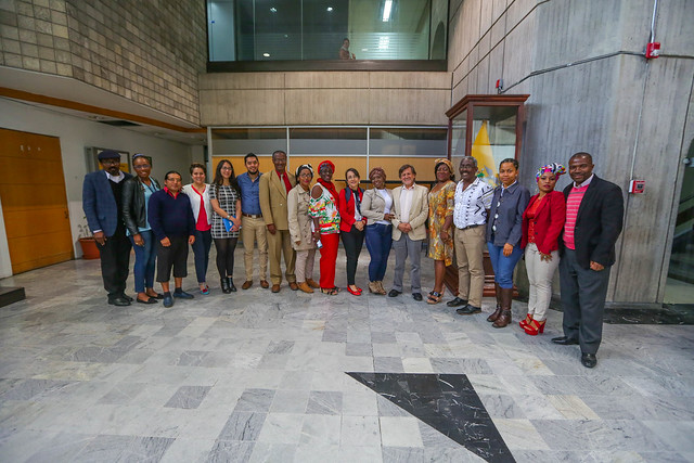 Posesión de la Mesa Nacional de Etnoeducación Afroecuatoriana