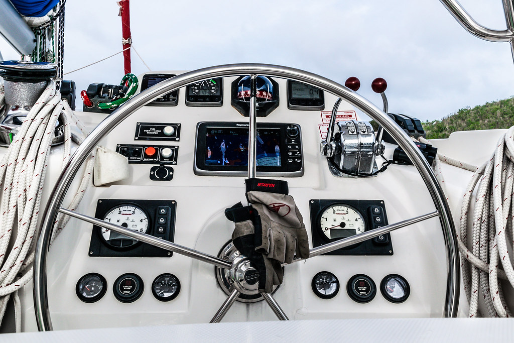 the captain's controls