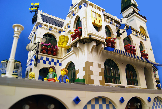 Lego Bavarian Beer Hall 4