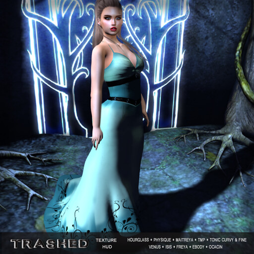 <TRASHED> VENICE DRESS WITH HUD - TeleportHub.com Live!
