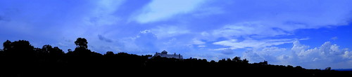 panorama texas clouds centraltexas hillcountry sky treeline blue landscape sony compact