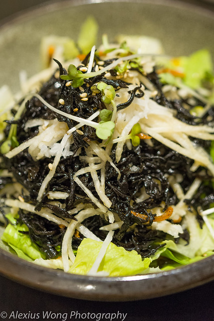 Jicama and Seaweed Salad