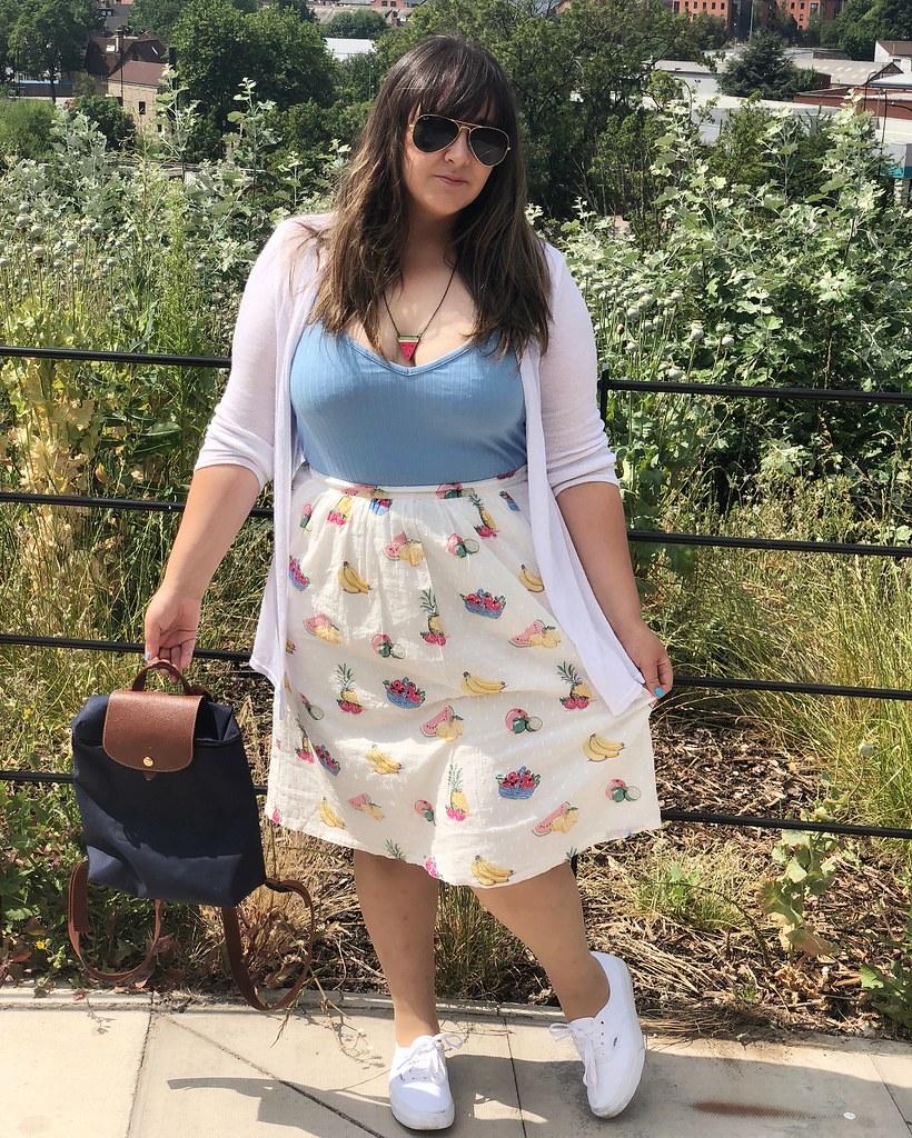 fruit cath kidston skirt