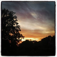 Efter solnedgången. (med filter)