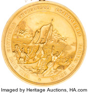 South Carolina Palmetto Regiment Gold Medal obverse