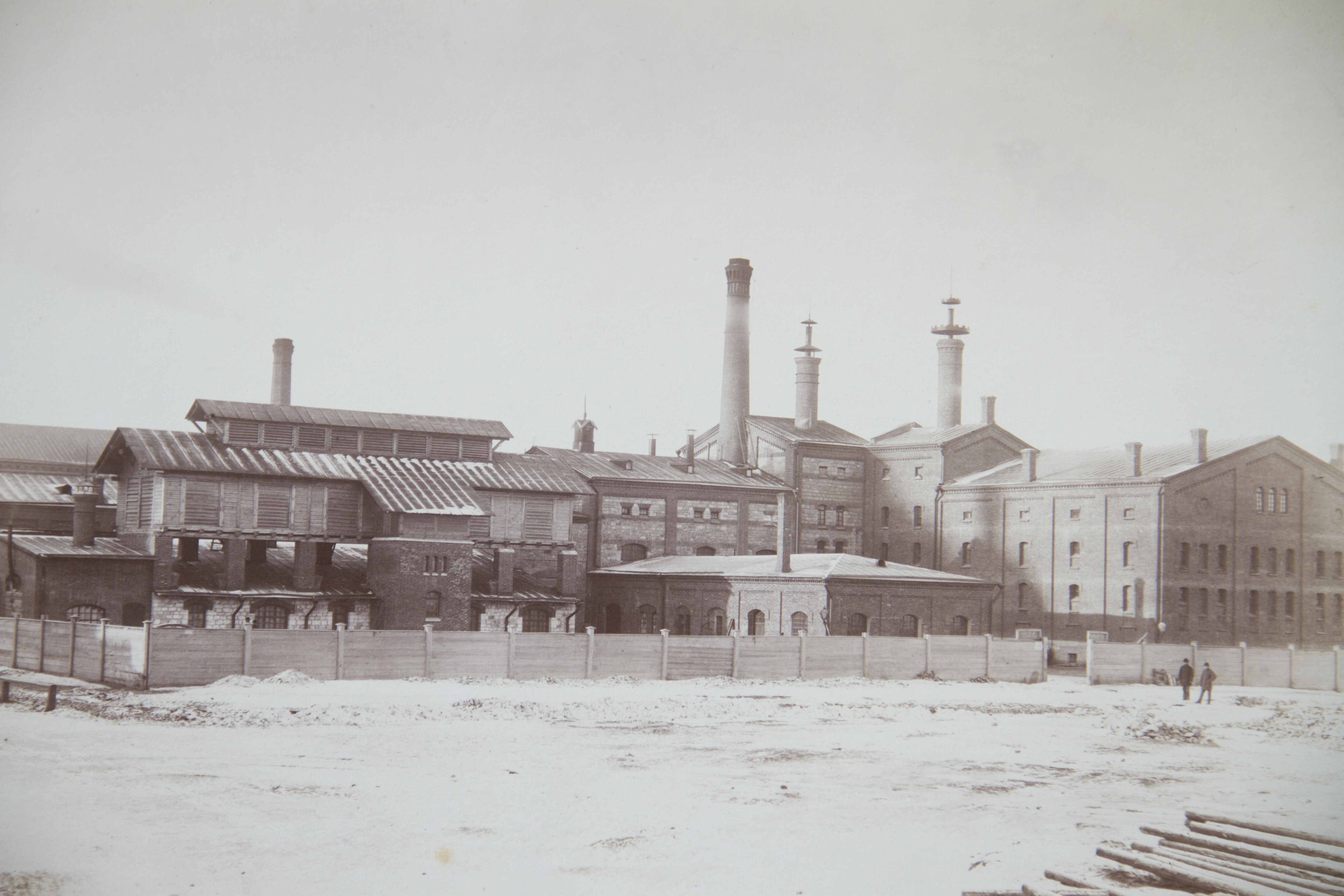 Жигулевский пивоваренный завод. 1883