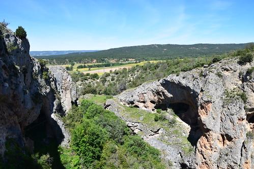 Desde la Ventana del Diablo (Cuenca, Castilla-La Mancha, España, 18-6-2018)