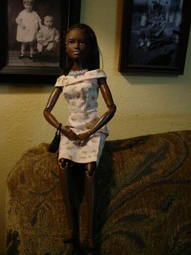 vintage Barbie dress mini