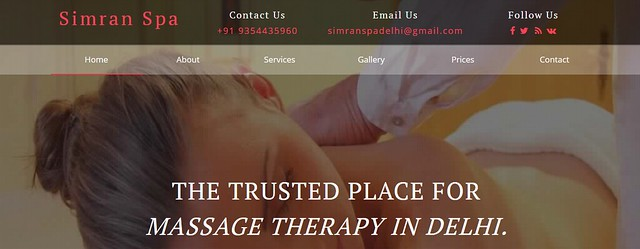 Deep full body massage in lajpat nagar delhi - Simran Spa