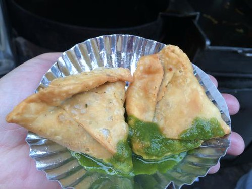 Samosa at Old Famous Jalebi Wala