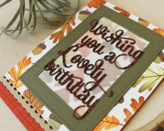 LizzieJones_PapertreyInk_August2018_SayItSimply_ScallopStackers_AutumnLovelyBirthdayCard2