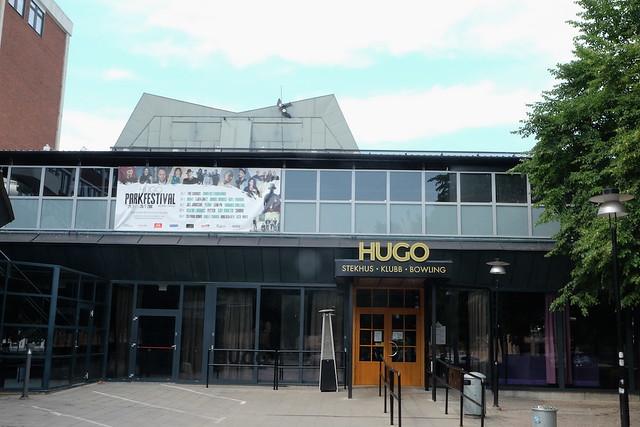 Hugo förbereder för Parkfestival