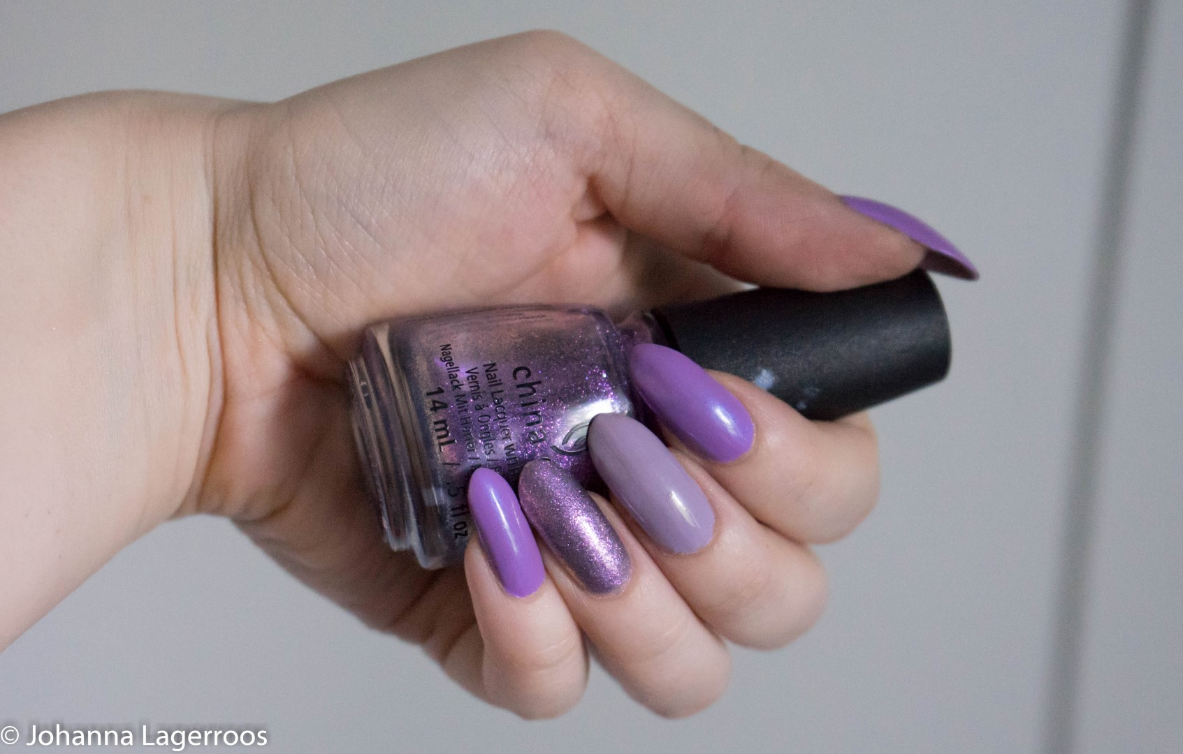 china glaze purple