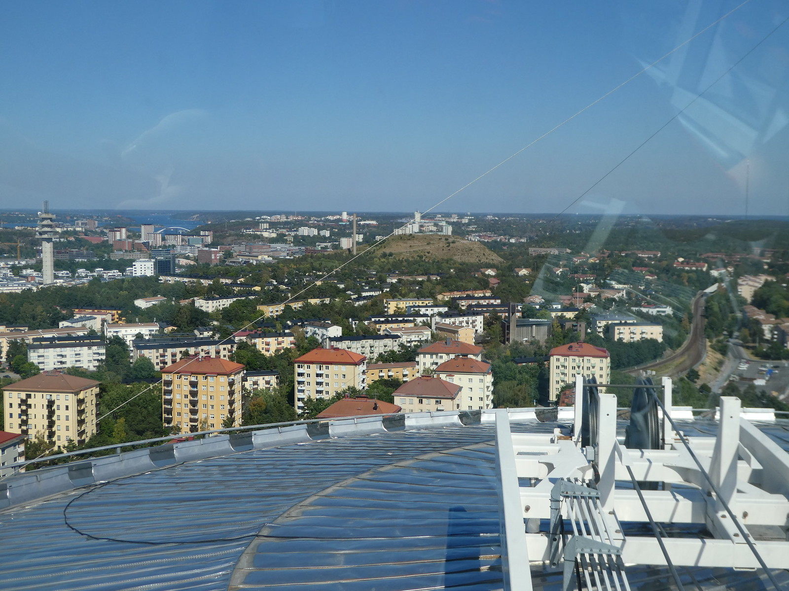 The Ericsson Globe, Stockholm view from top