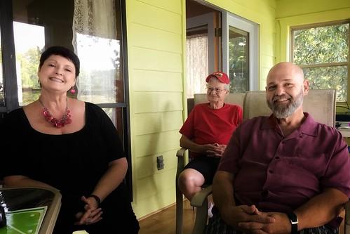 Donna, Jim & David   Weiss Lake   Centre, Alabama