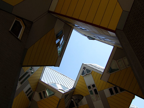 beautiful Cubes in Rotterdam