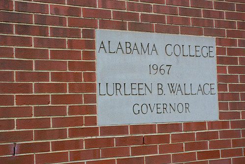 Oh look. George Wallace's wife was governor.