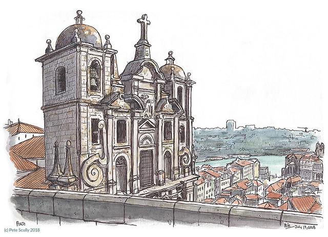 São Lourenço (Grilos), Porto