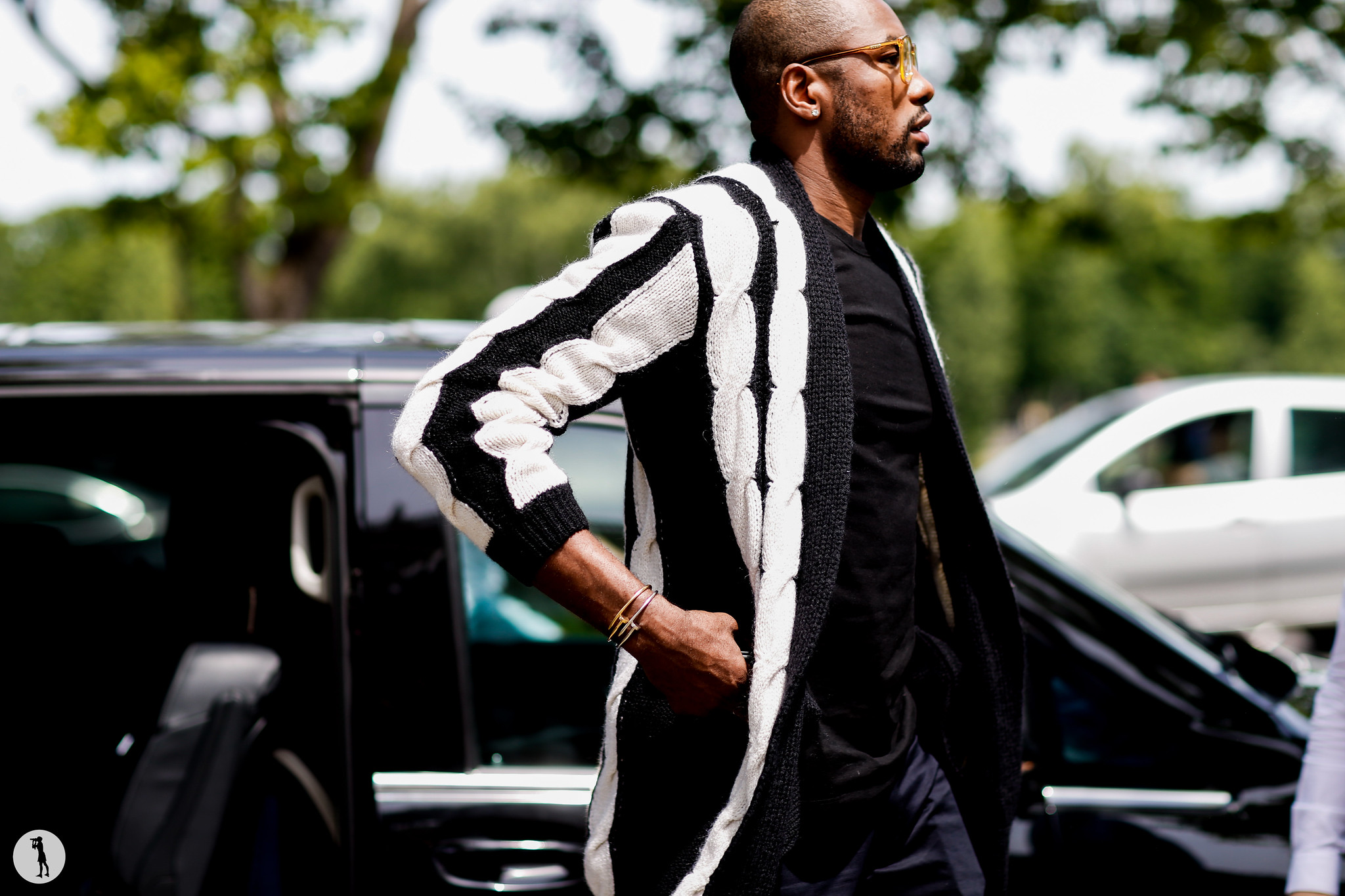 Serge Ibaka - Paris Fashion Week Menswear SS19 (4)