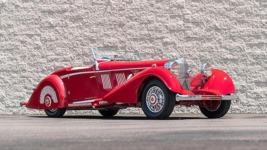 Mercedes-Benz 540 K Sport Roadster (1937)
