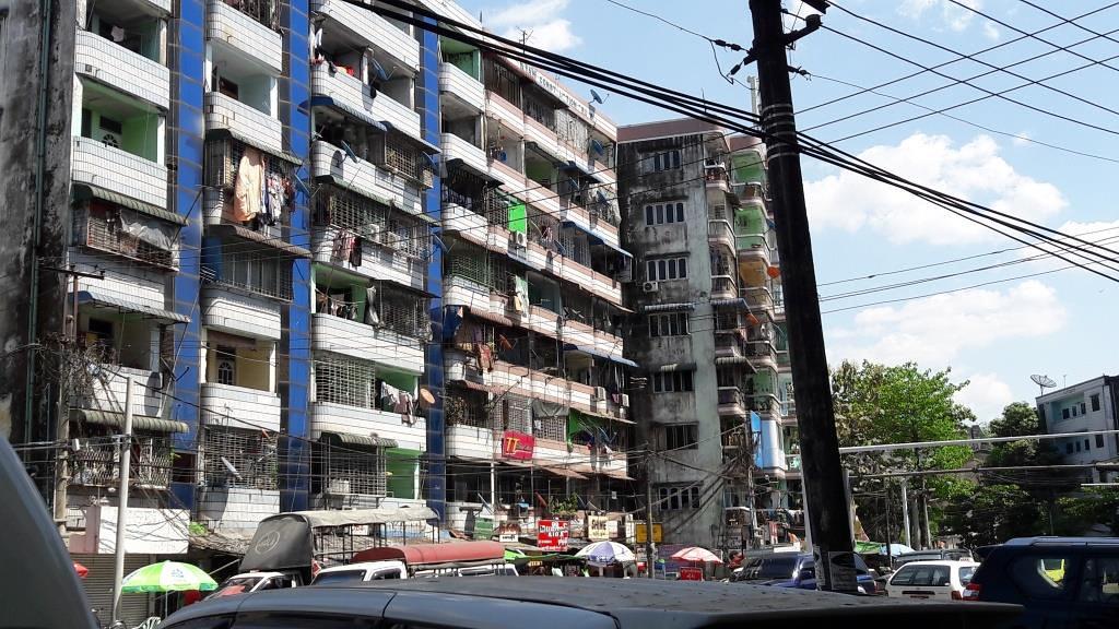 Yangonin keskusta, 2017
