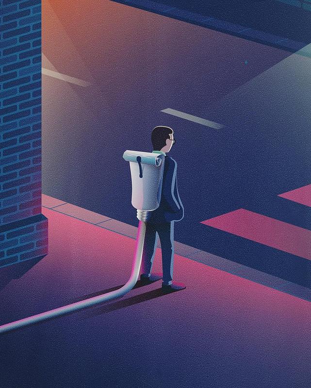Ян Зимен. Иллюстрации для развлечения.