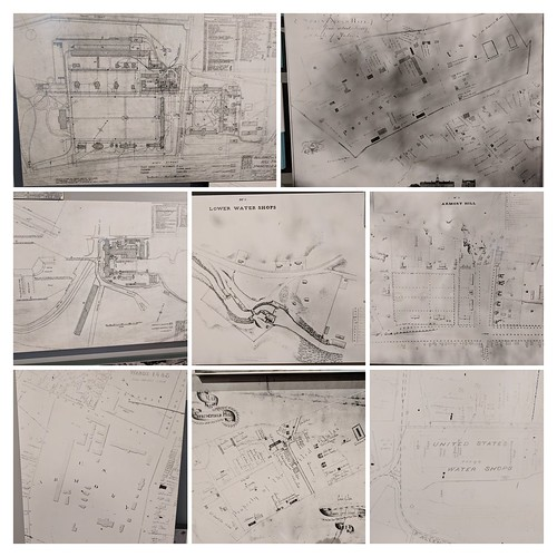 Maps of the Armory collage