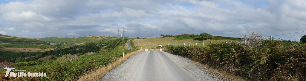 P1170597 - Route of the Mynydd y Gwair wind farm access track