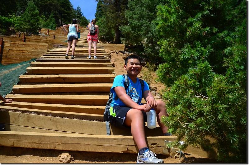 Jacob on his way up to the top of the incline (3)