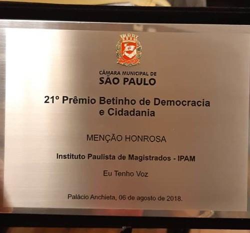 IPAM recebe menção honrosa no Prêmio Betinho de Democracia e Cidadania