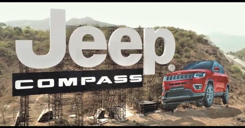 Jeep Compass Billboard
