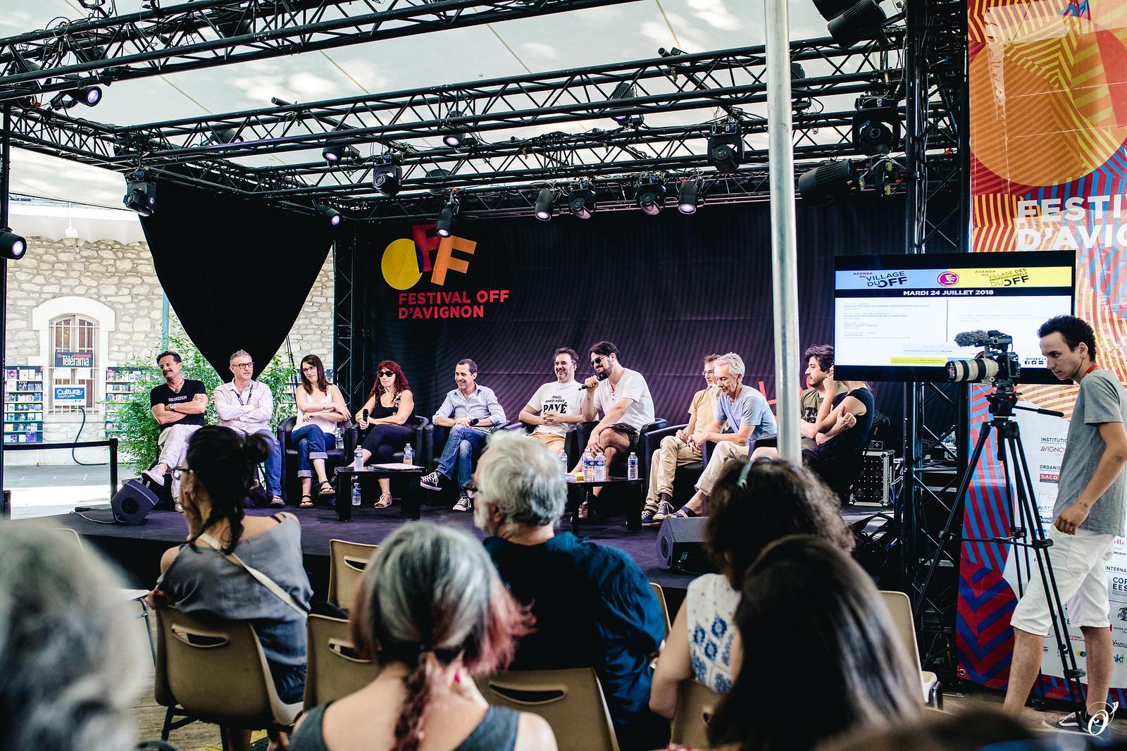 Rencontre avec le Conseil d'Administration d'Avignon Festival & Compagnies