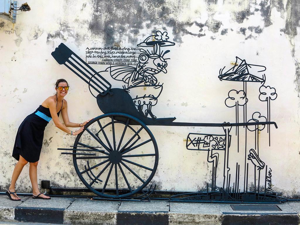 Los mejores murales de Penang