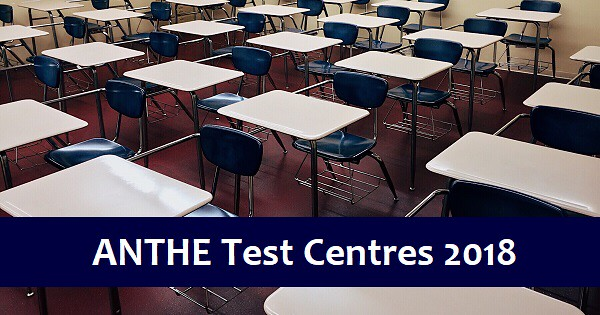 anthe test centres