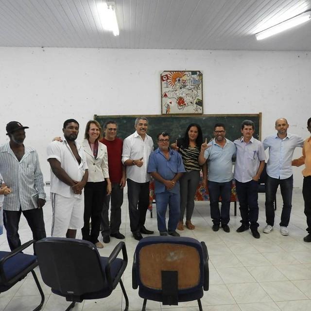 Visita ao assentamento Oziel Alves