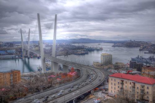 'Золотой мост' at Vladivostok 15-04-2018 (4)