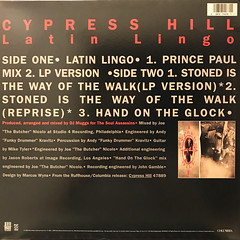 CYPRESS HILL:LATIN LINGO(JACKET B)