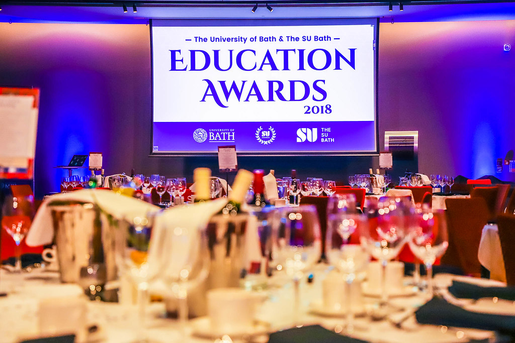 Education Awards 2018 room decor