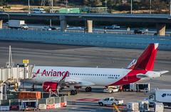 avianca flight av561 boards for departure to san salvador