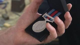 British Military medal