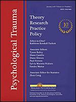 Psychological Trauma Cover