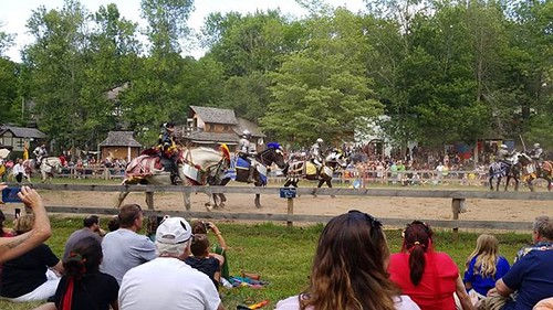 On the field of Tourney #sterlingrenaissancefestival #renfest #renfaire