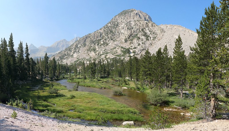 Upper Bubbs Creek along the PCT and John Muir Trail
